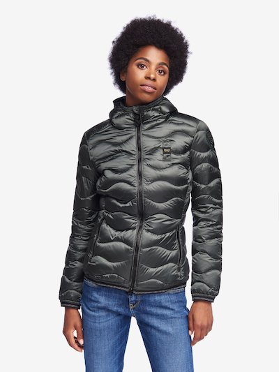 KENNEDY IRIDESCENT NYLON DOWN JACKET