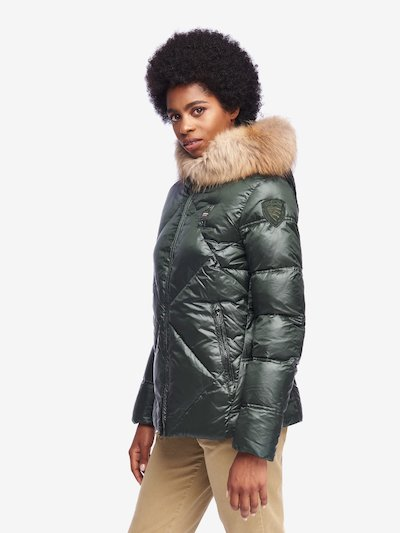 BUTLER IRIDESCENT NYLON DOWN JACKET