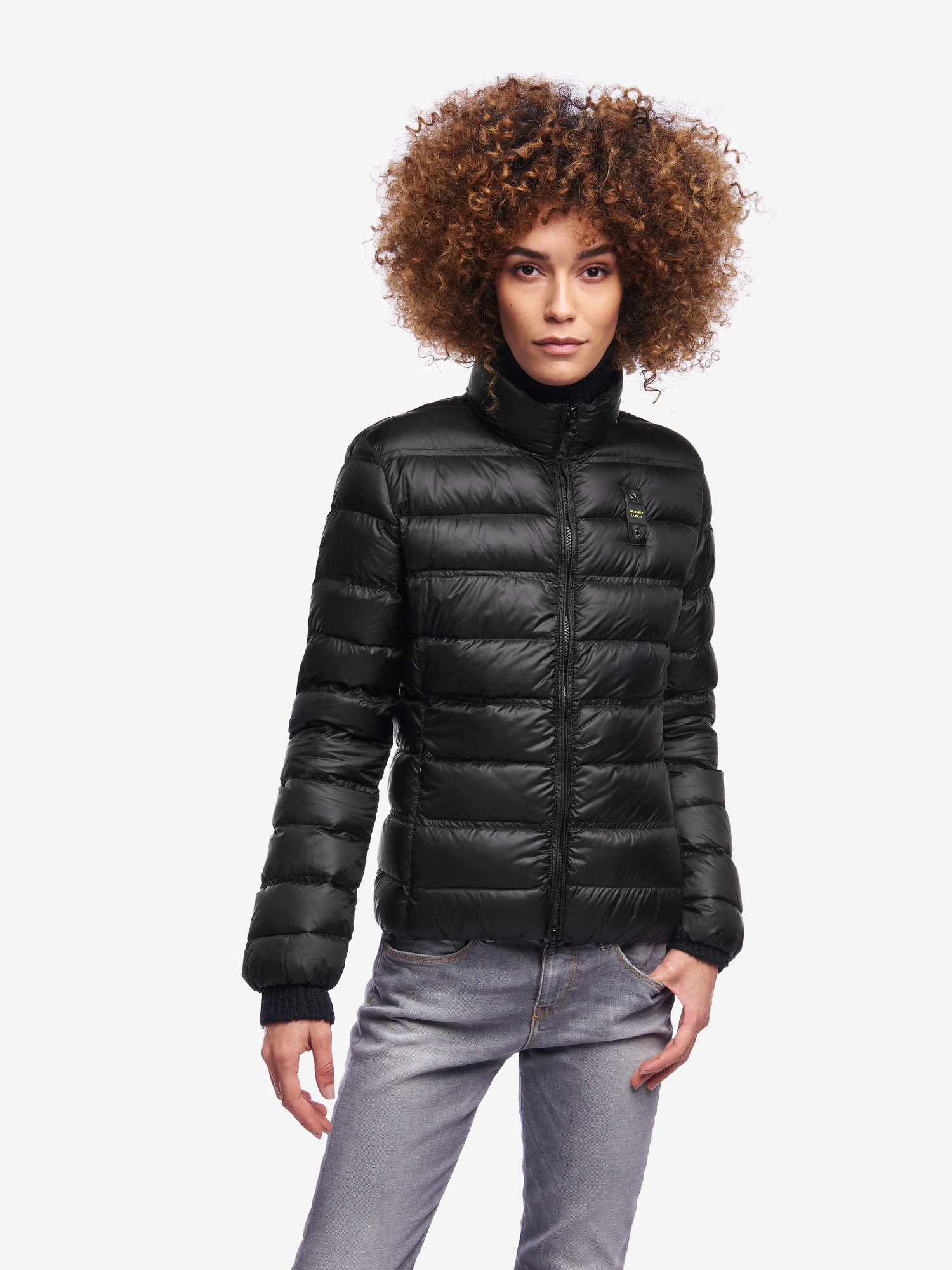 Blauer - SAUNDERS SHORT DOWN JACKET - Black - Blauer