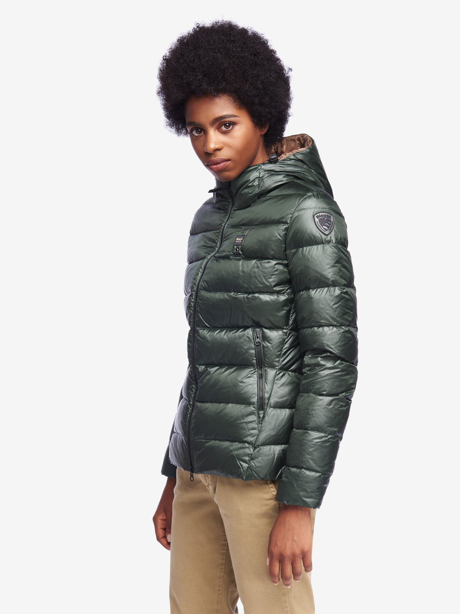 COLE DOWN JACKET WITH HOOD - Blauer