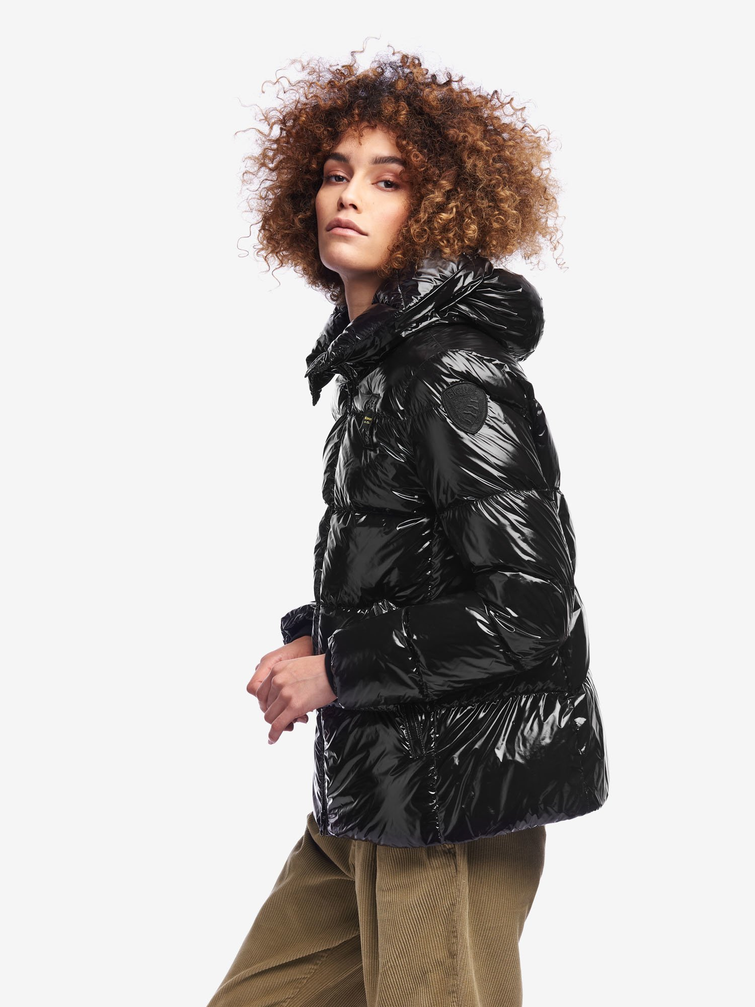 HART SHINY DOWN JACKET WITH HOOD - Blauer