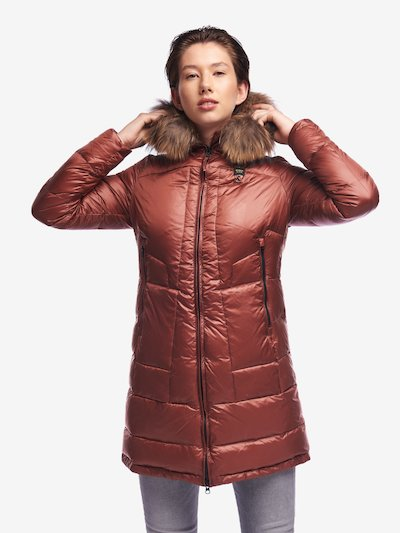 BRADLEY LONG DOWN JACKET WITH FUR