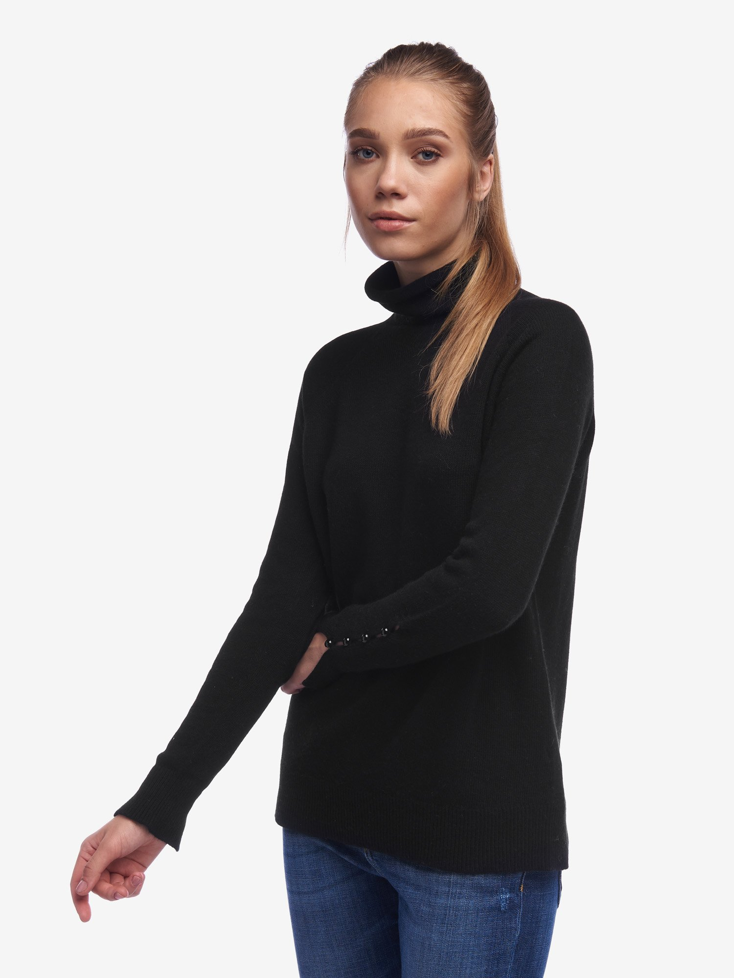 LONG TURTLENECK SWEATER - Blauer