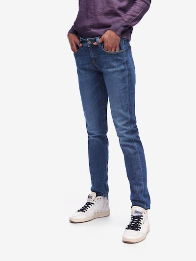 JEANS CINQ POCHES OLD USED