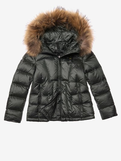 BURTON DOWN JACKET WITH FUR