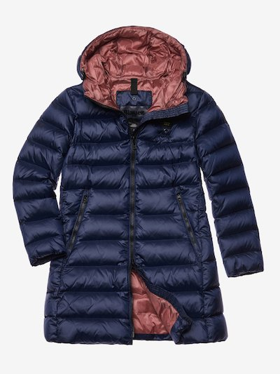 BAXTER LONG DOWN JACKET WITH HOOD