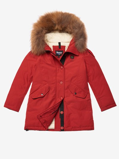 BALL  PARKA IN LIGHT TASLAN