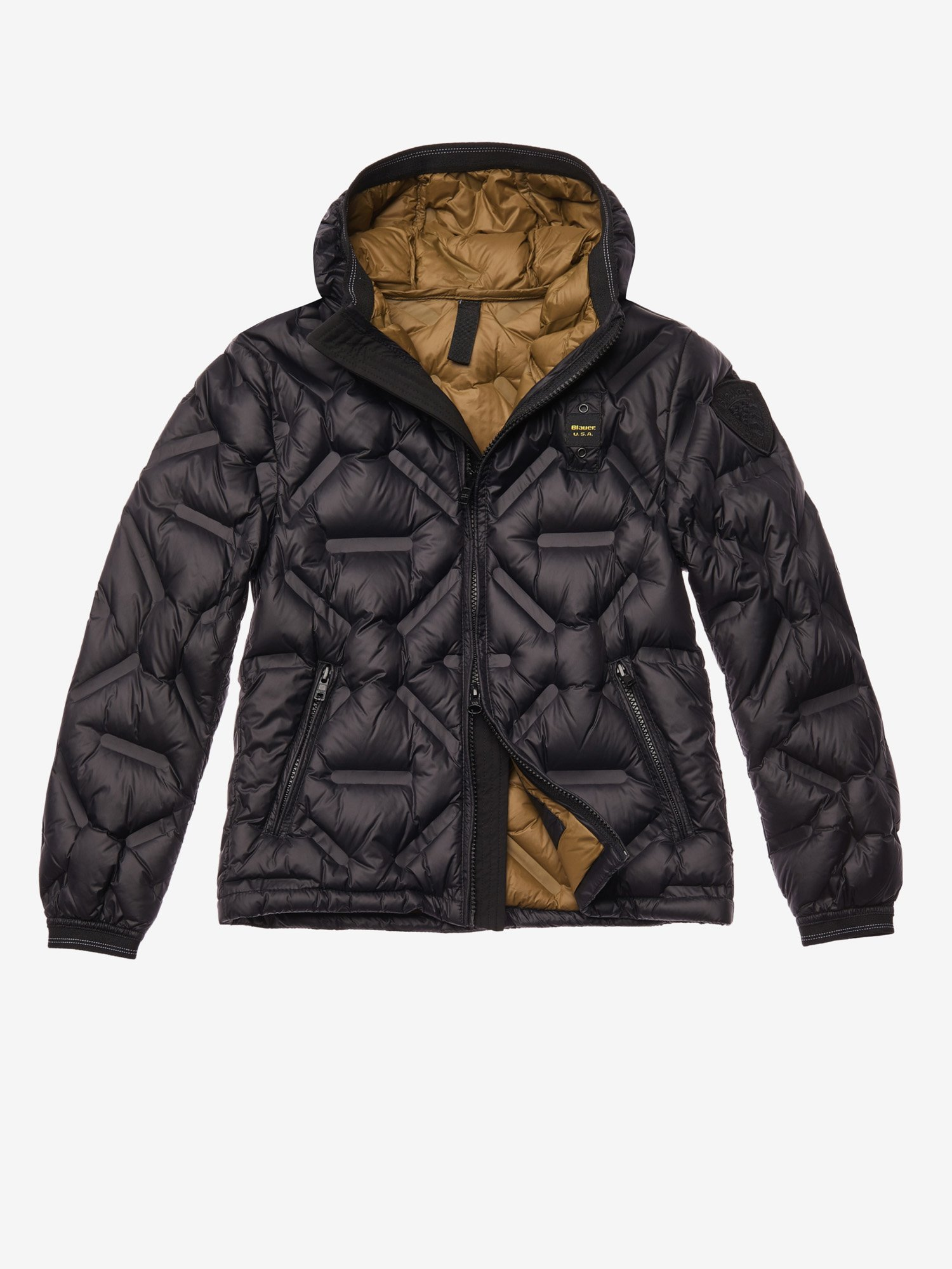 PORTER DOWN JACKET WITHOUT STITCHING - Blauer