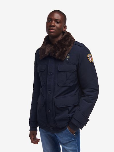 BLOUSON POLICE BLAUER MURREY