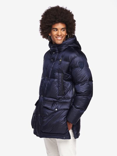 REID LONG NYLON DOWN JACKET