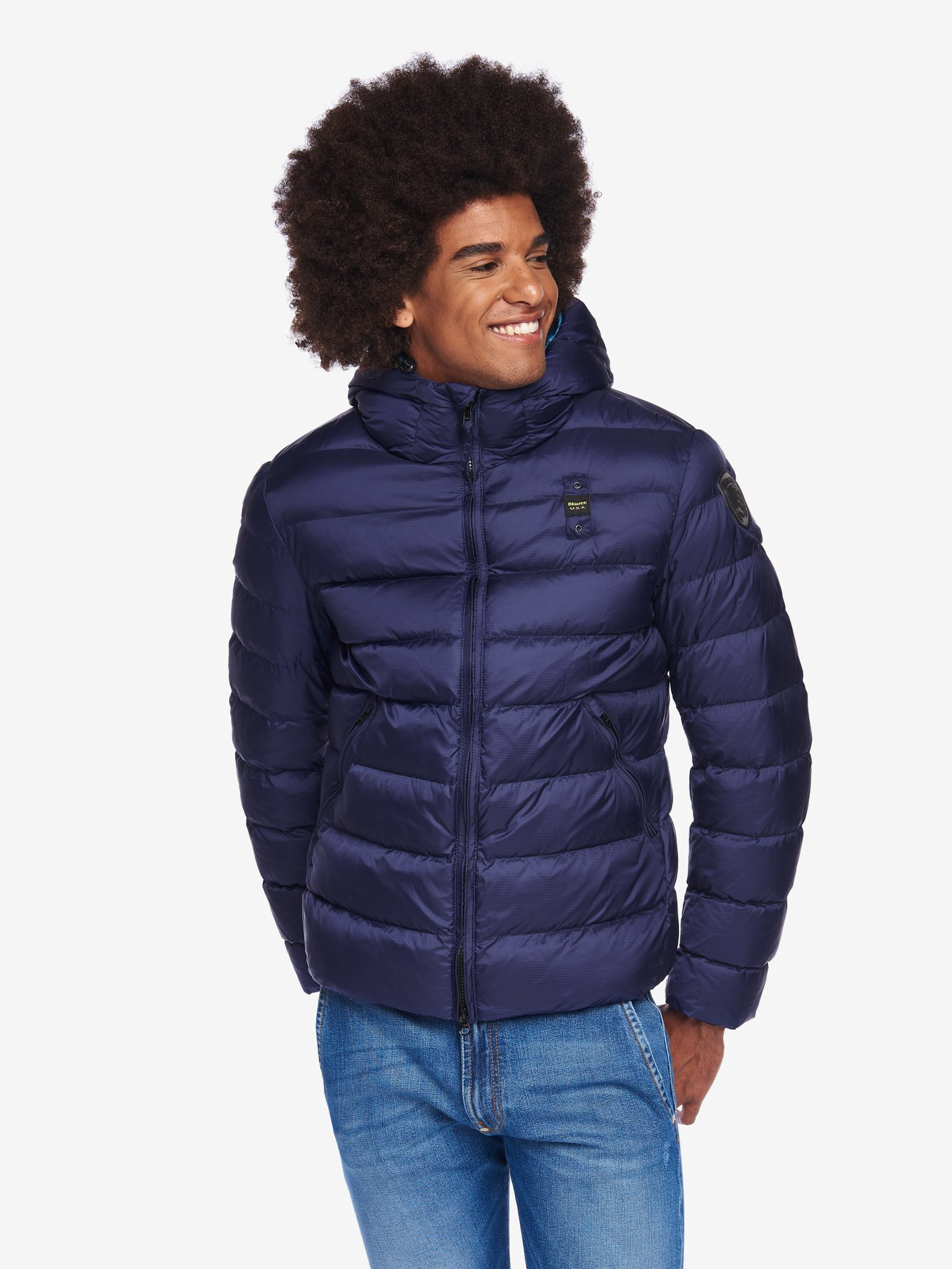 PALMER BIO JACKET WITH HOOD - Blauer