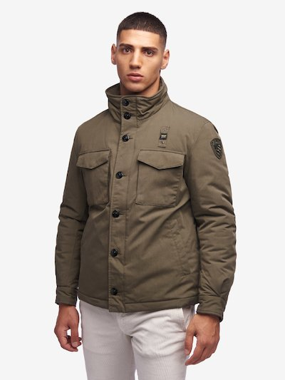 FIELD JACKET DE GABARDINA RELLENA HUNTER