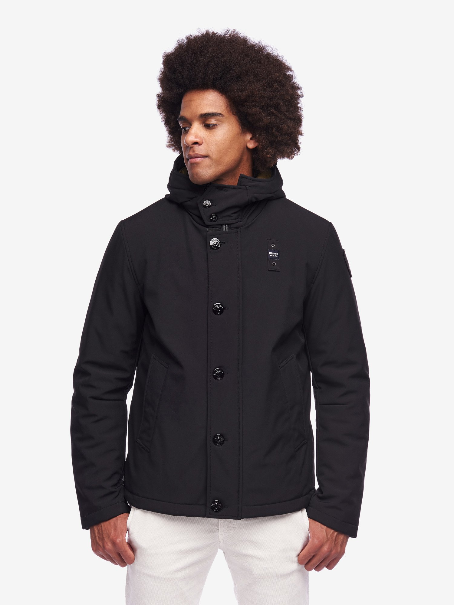 OWEN PADDED JACKET WITH HOOD - Blauer