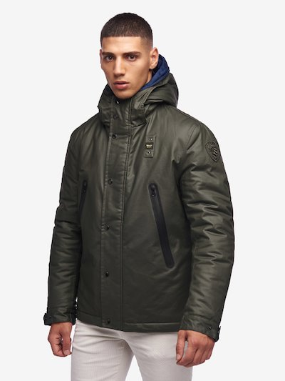 MASON COTTON AND NYLON PADDED JACKET
