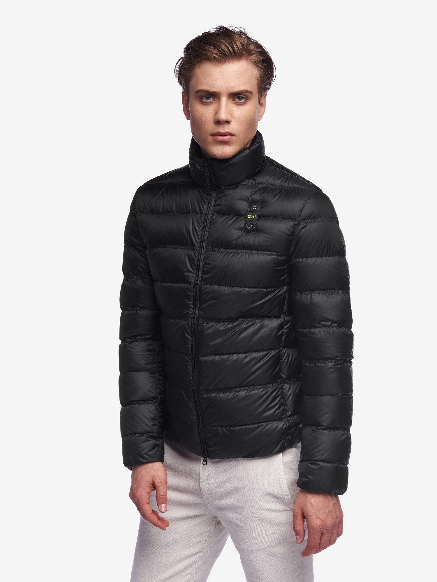 Blauer - HARVEY SOLID COLOUR DOWN JACKET - Black - Blauer