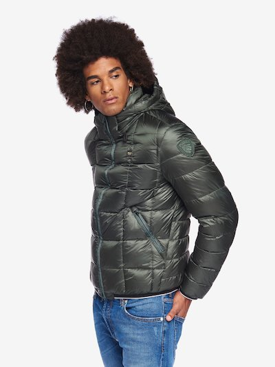 BARNES DOWN JACKET WITH DETACHABLE HOOD
