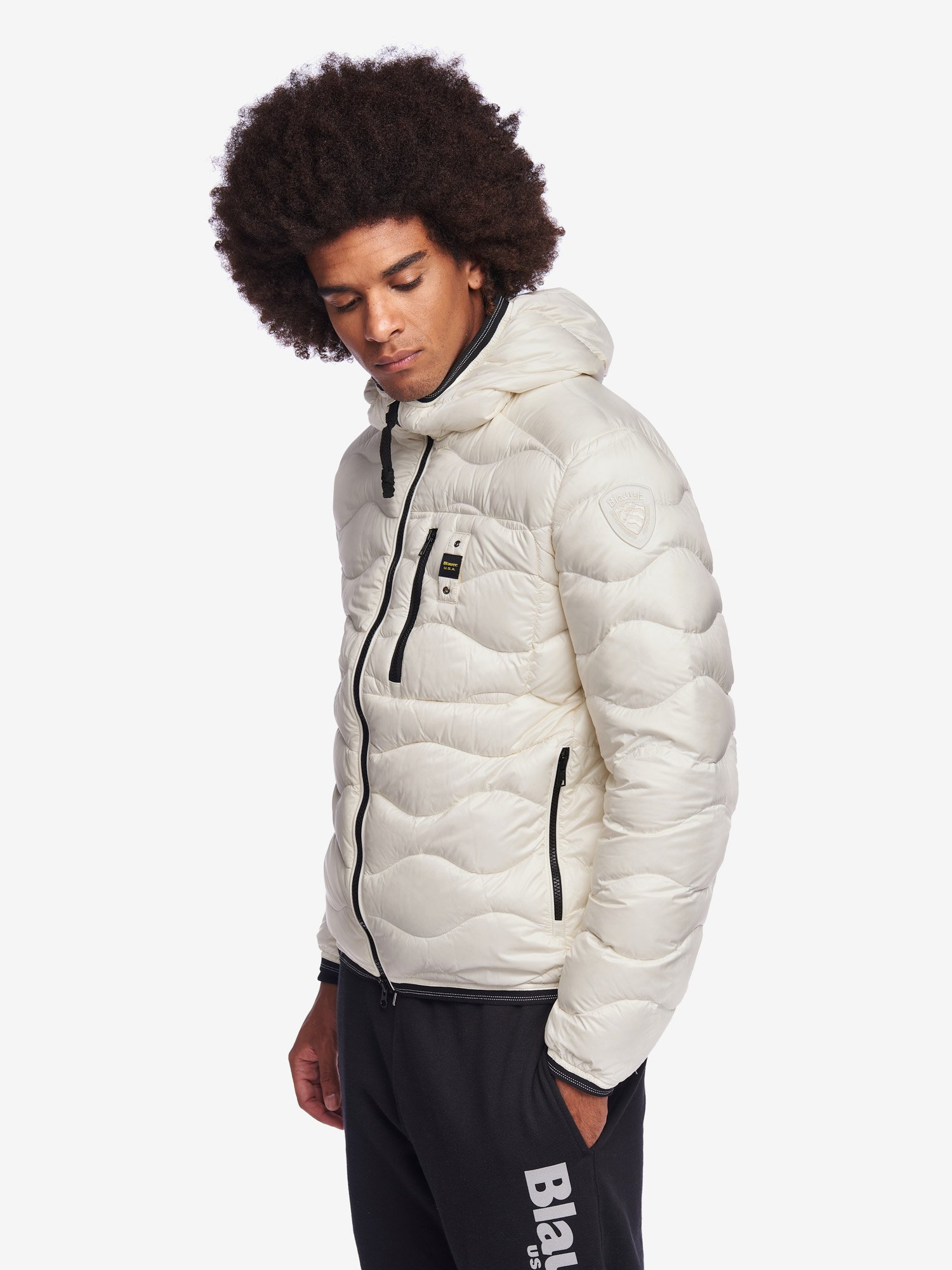 BOOTH WAVE DOWN JACKET - Blauer