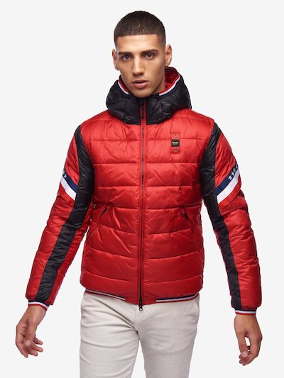 GILL BICOLOUR NYLON DOWN JACKET