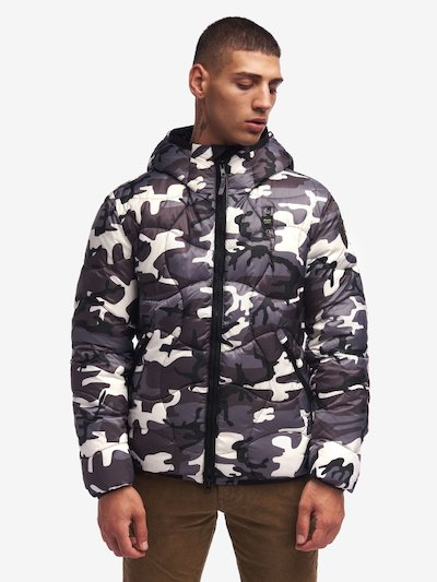 ARMSTRONG CAMOUFLAGE DOWN JACKET