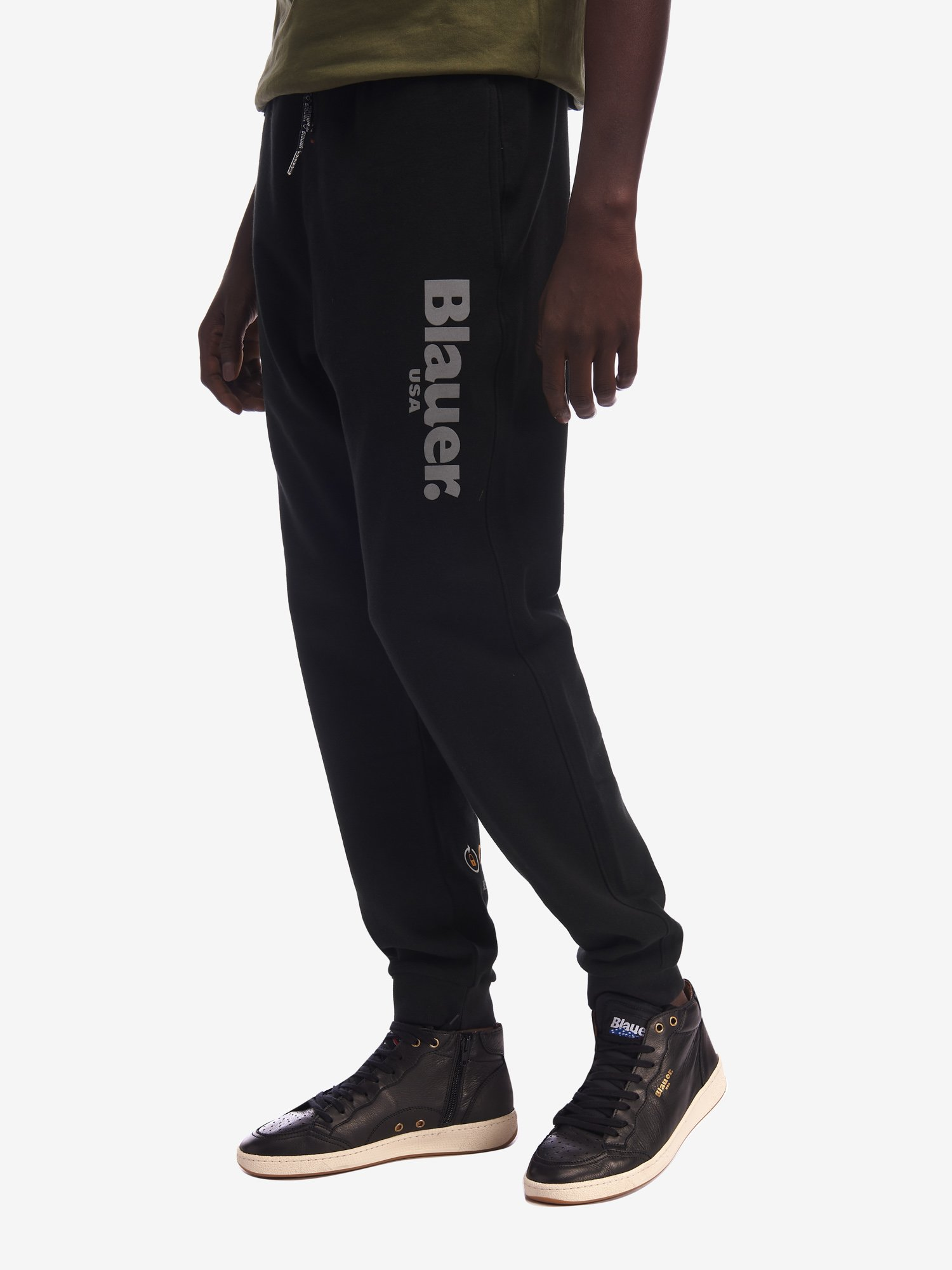 SWEATPANTS WITH CAMOUFLAGE POCKET - Blauer