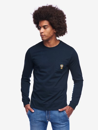 LONG SLEEVE T-SHIRT ACADEMY WITH CREW NECK