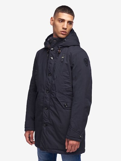 BARKER PADDED MILITARY PARKA