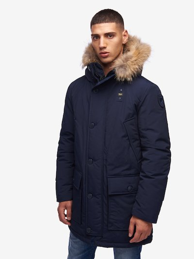 JARVIS PARKA WITH HOOD AND FUR TRIM