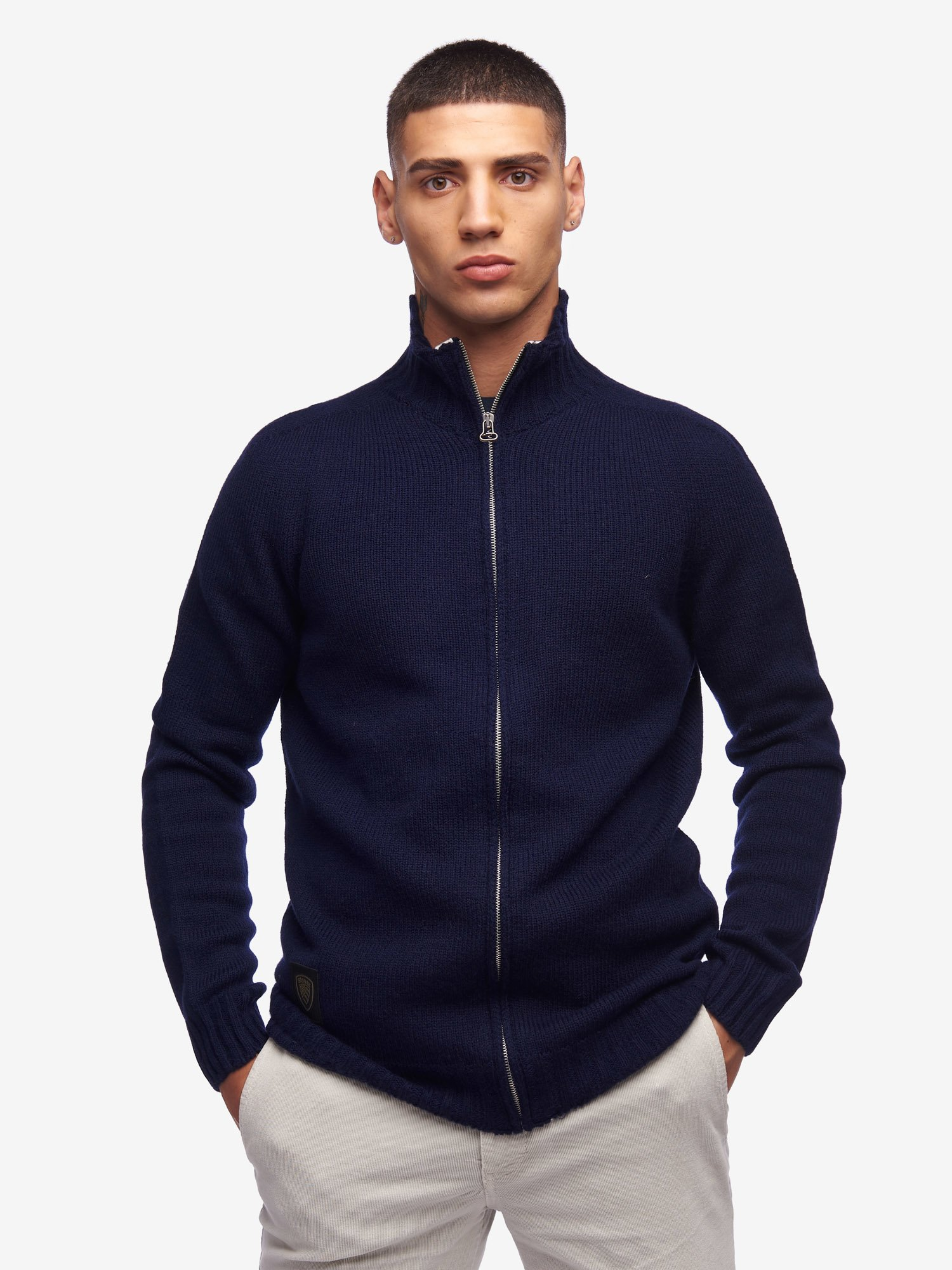 ZIP SWEATER - Blauer