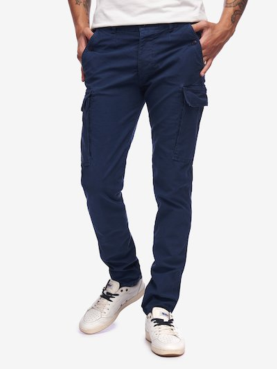 MULTIPOCKET MALFILE TROUSERS