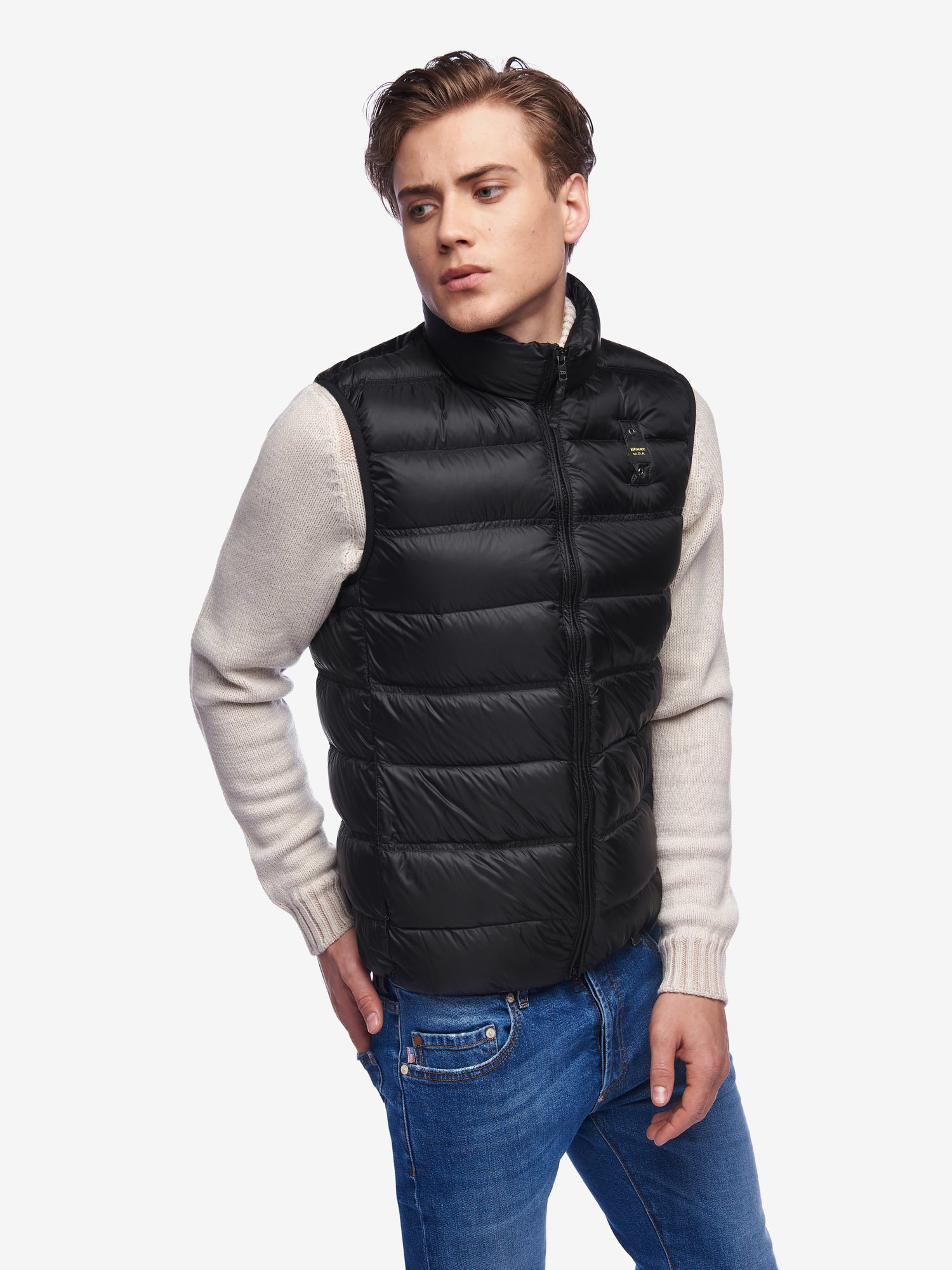 Blauer - BURNS DOWN VEST - Black - Blauer