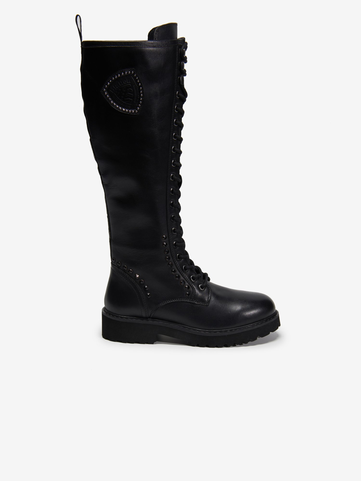 IRVINE MILITARY COMBAT KNEE HIGH BOOTS - Blauer