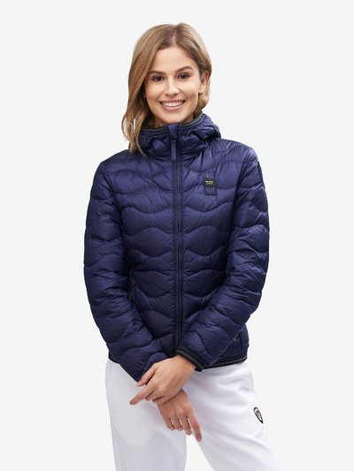 FERGUSON WAVE-QUILTED DOWN JACKET