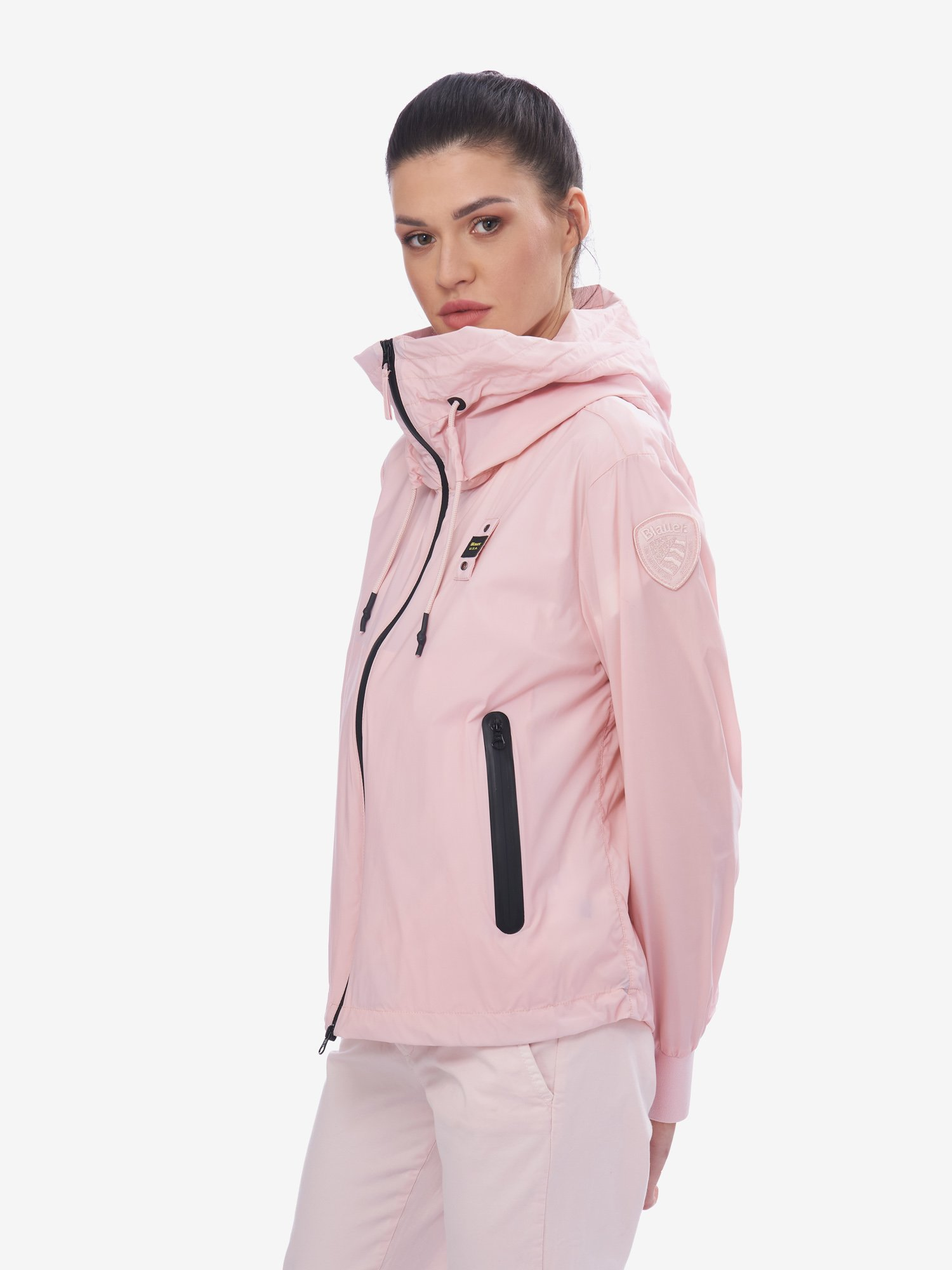 Blauer - LYNCH STRETCH UNLINED JACKET - Pink Pastel - Blauer