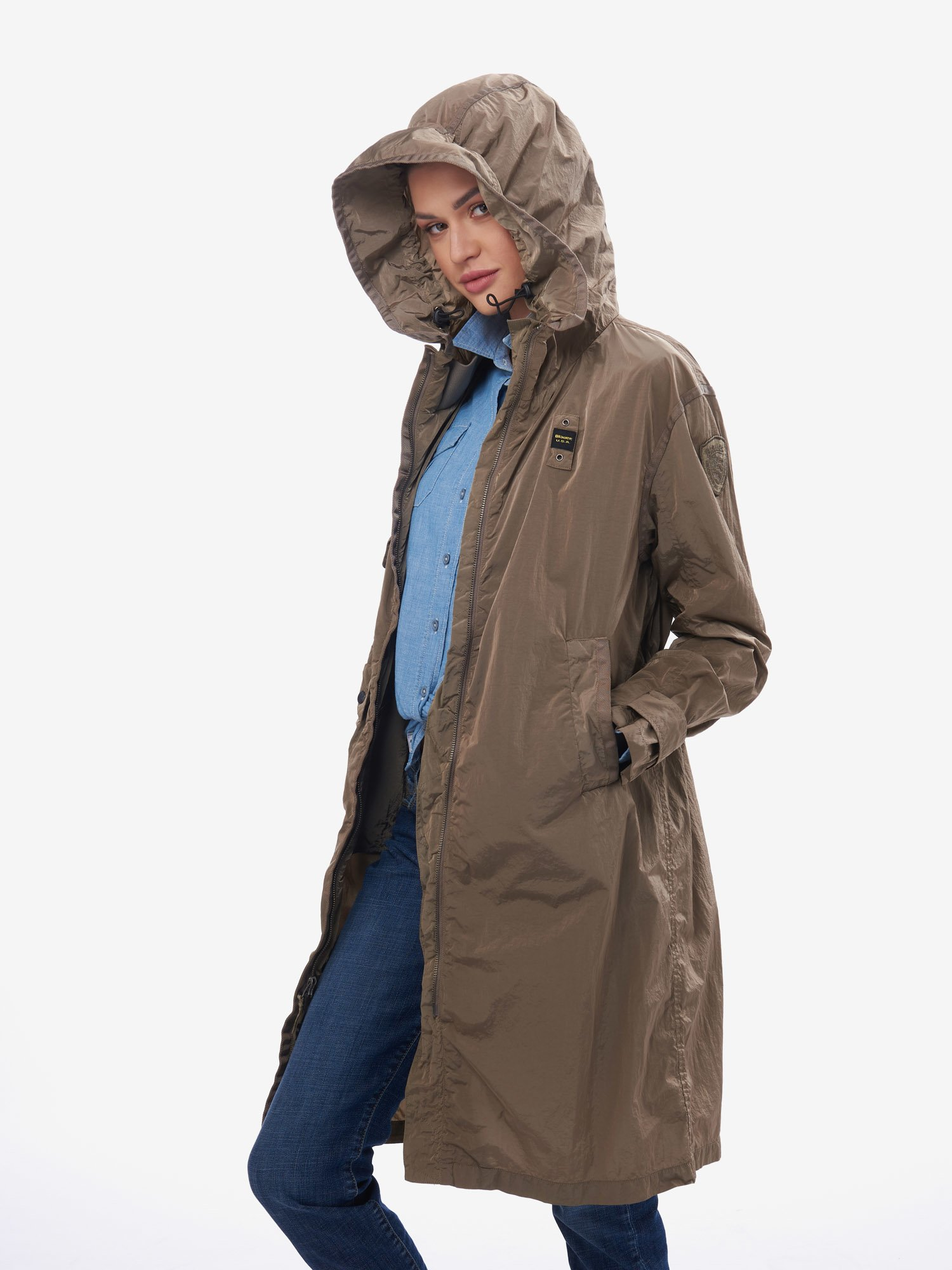 NORMAN MILITARY TRENCH COAT - Blauer