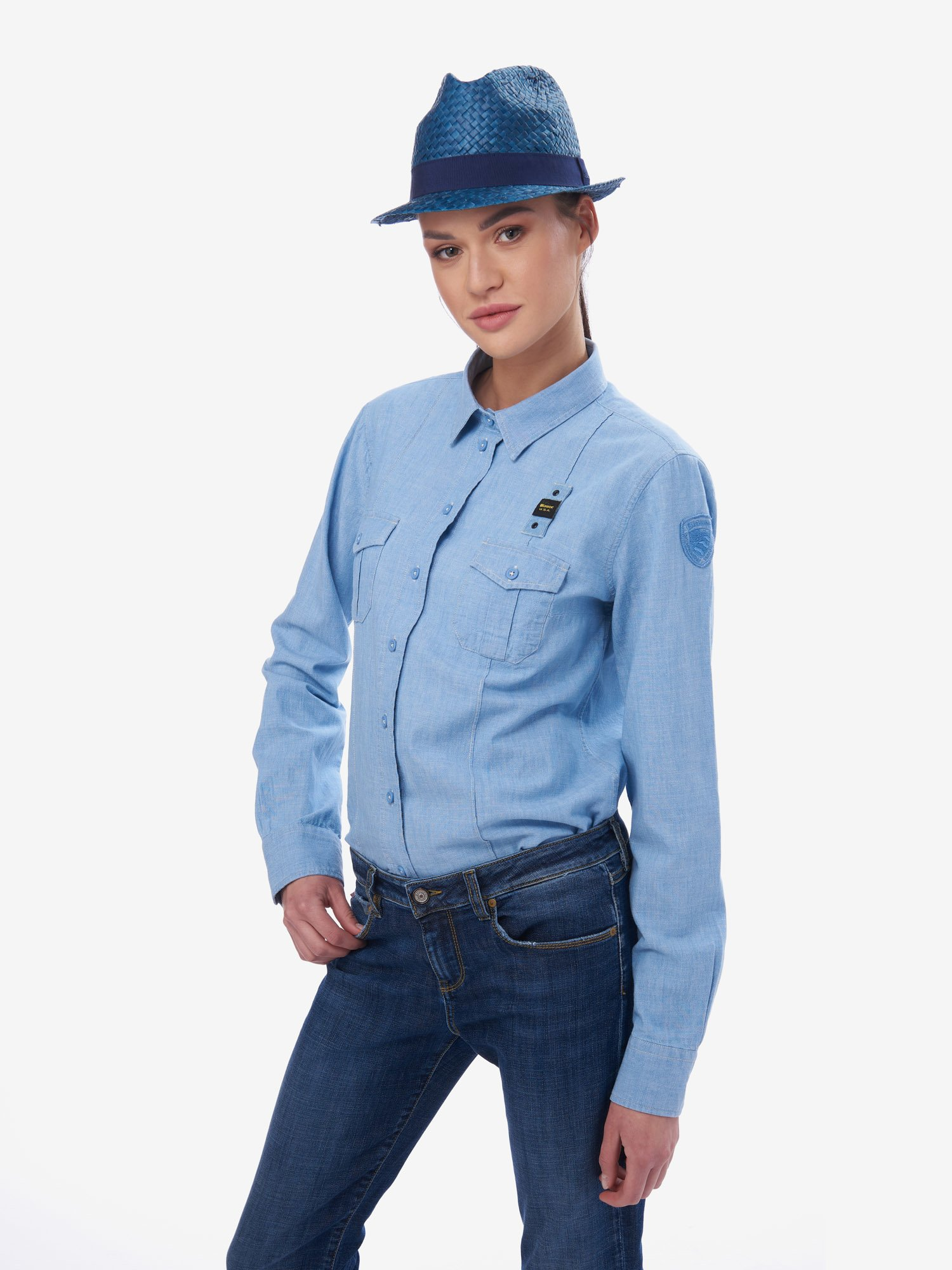 DENIM LOOK SHIRT - Blauer
