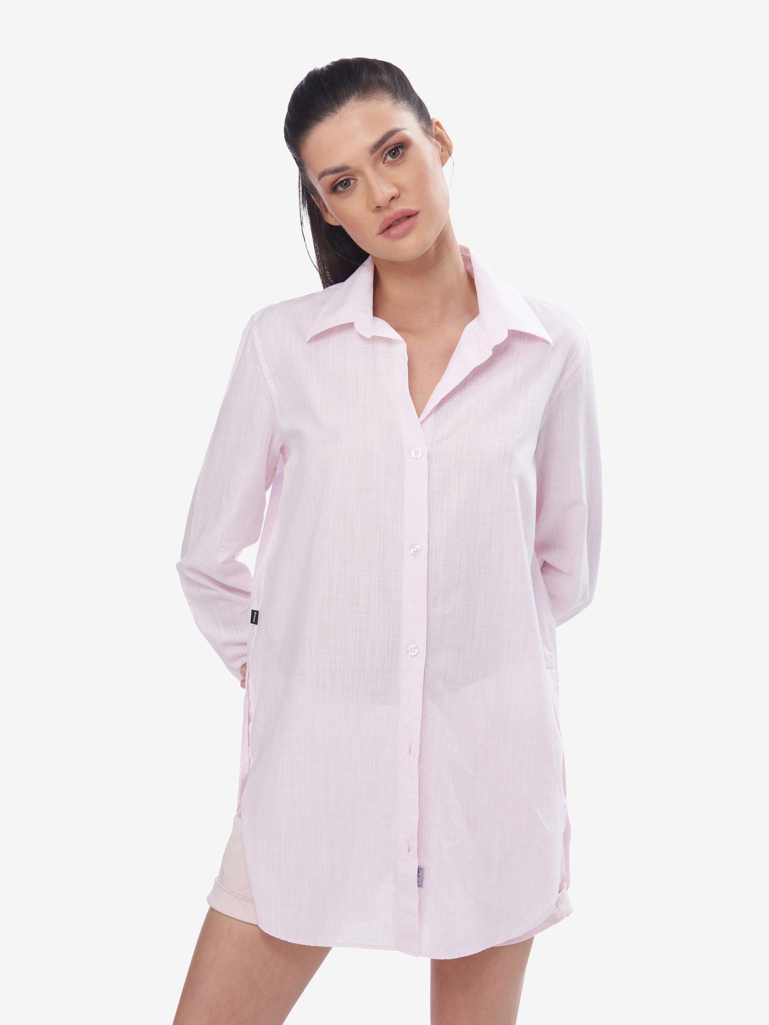 Blauer - LONG SHIRT - Pink Pastel - Blauer