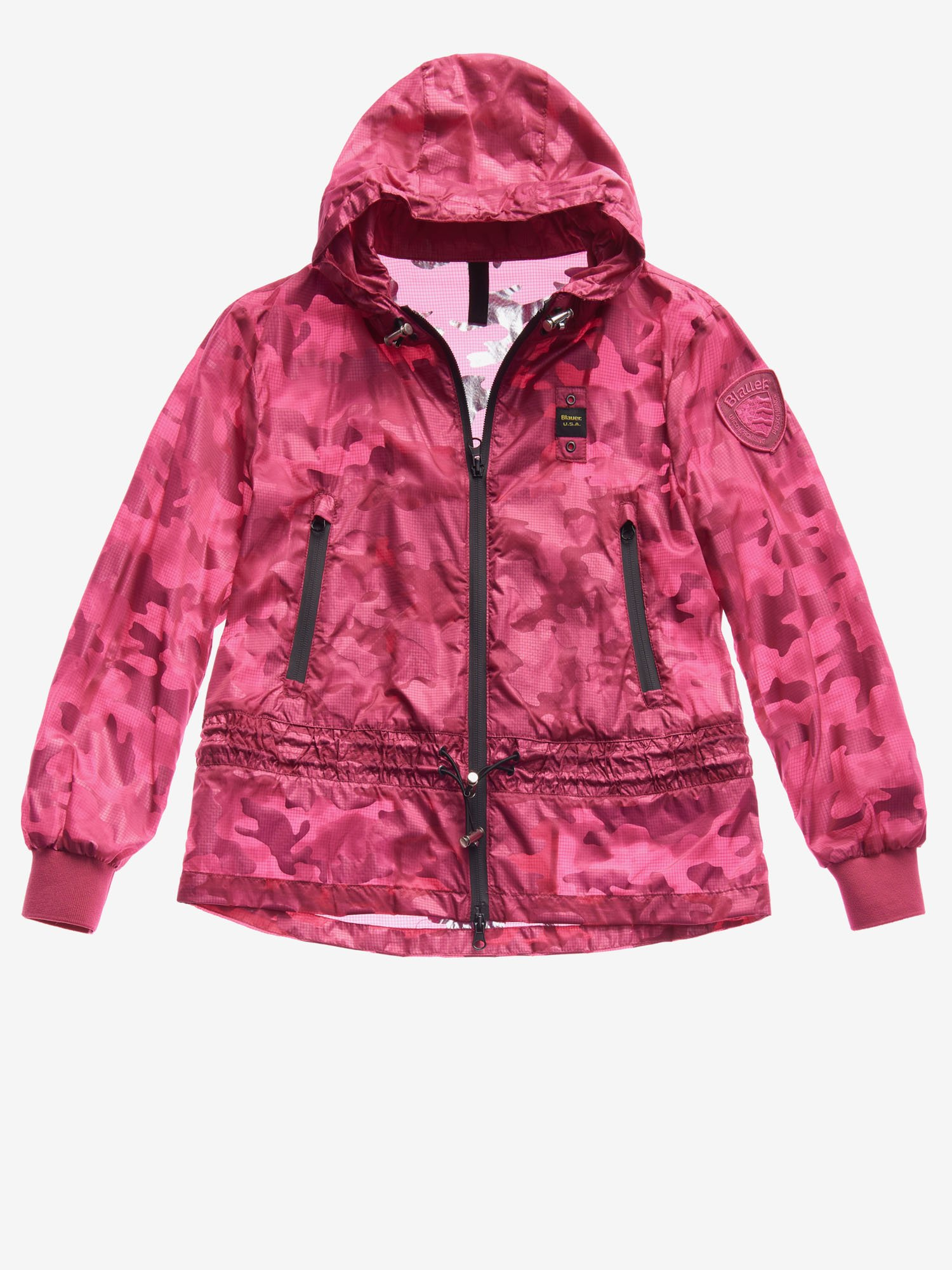 Blauer - CAZADORA JUNIOR SIN FORRO ULTRA LIGHT - Shocking Pink - Blauer