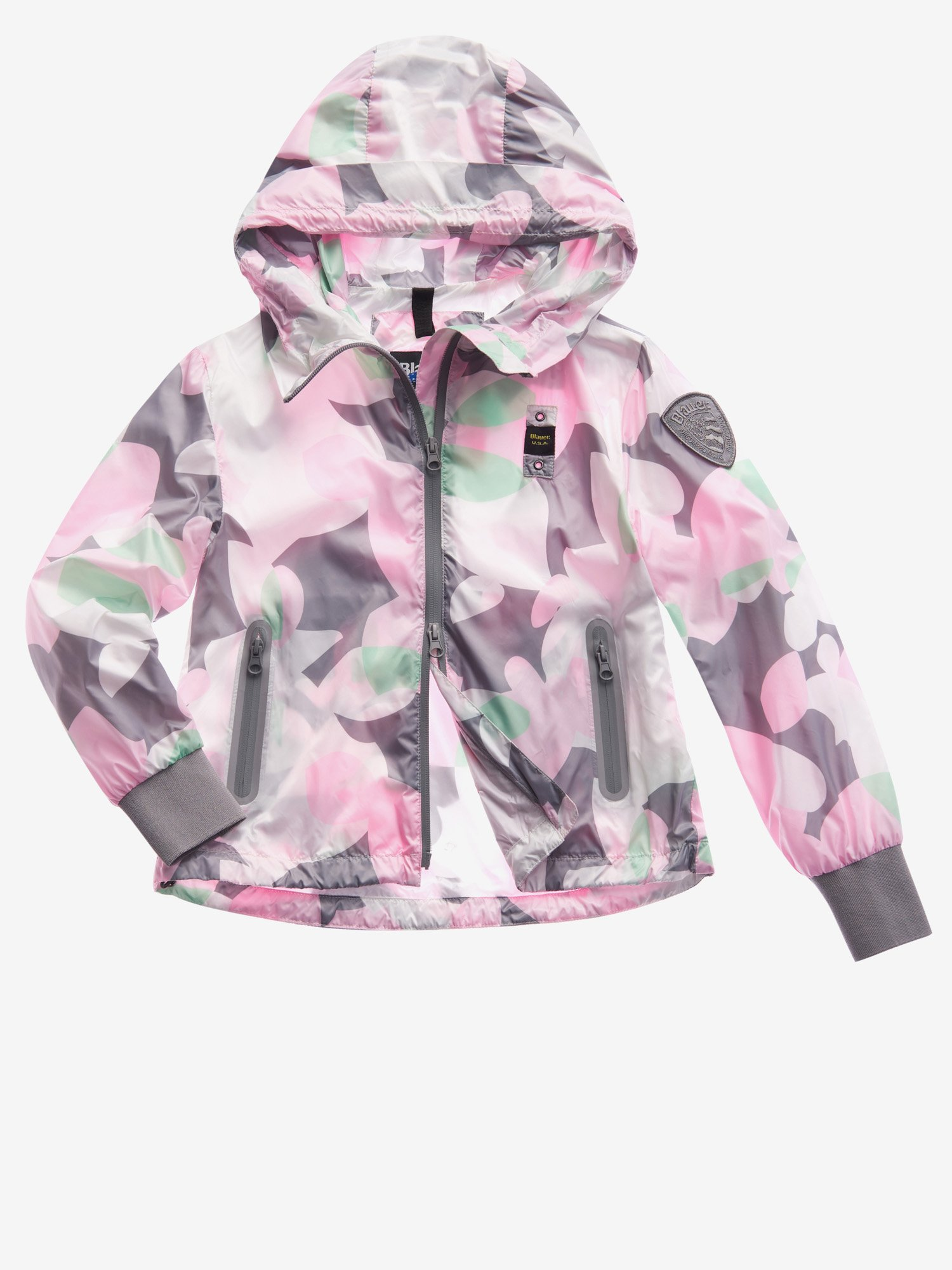 JUNIOR LINED CAMOUFLAGE JACKET - Blauer