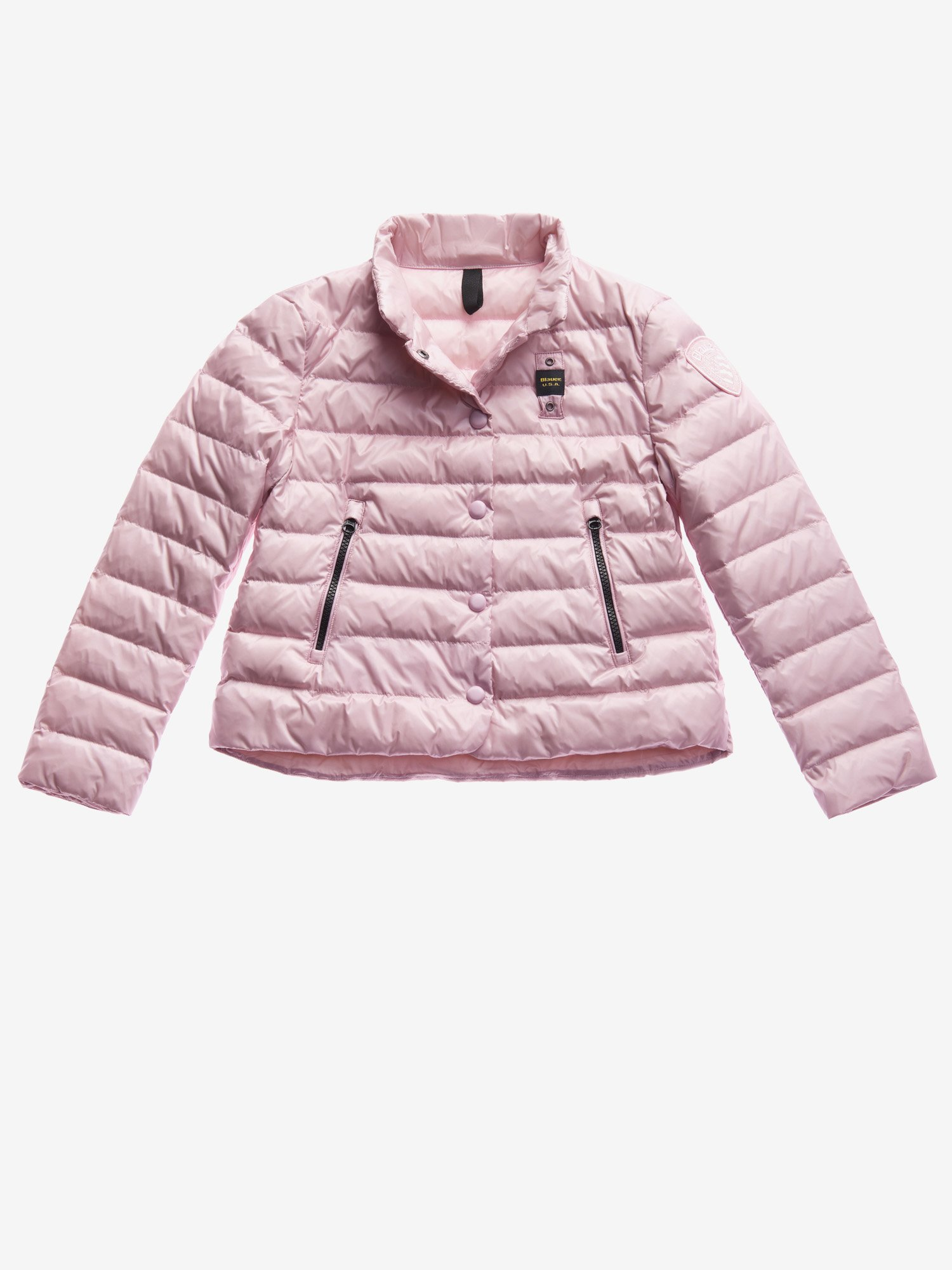 Blauer - JUNIOR PADDED DOWN JACKET - Pink Pastel - Blauer
