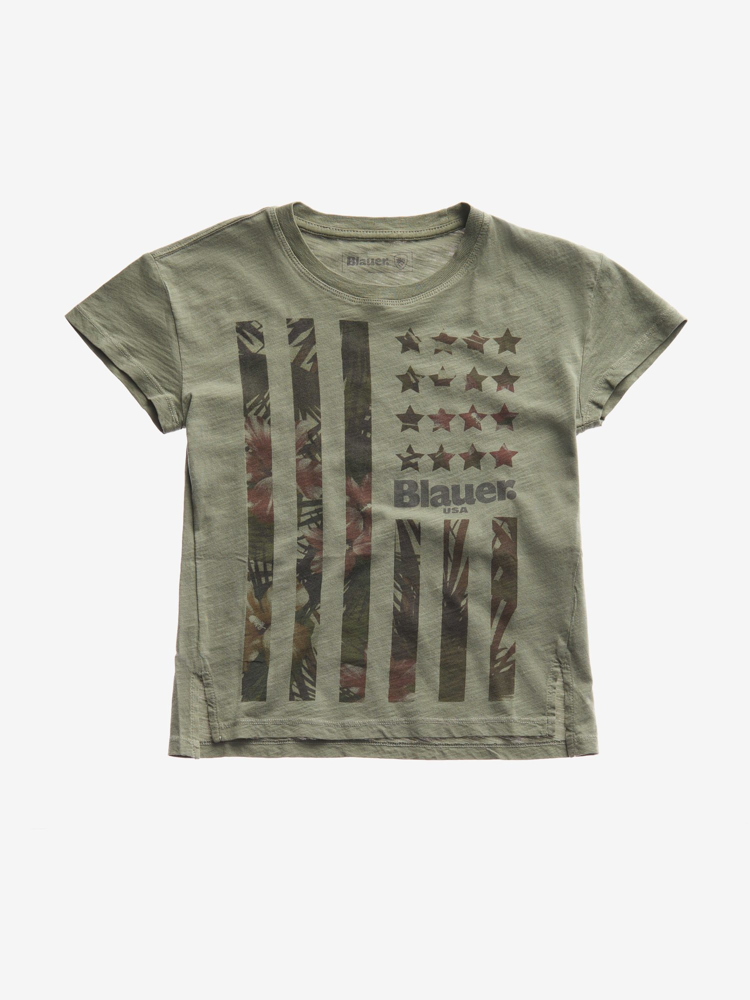 T-SHIRT JUNIOR STELLE STRISCE - Blauer