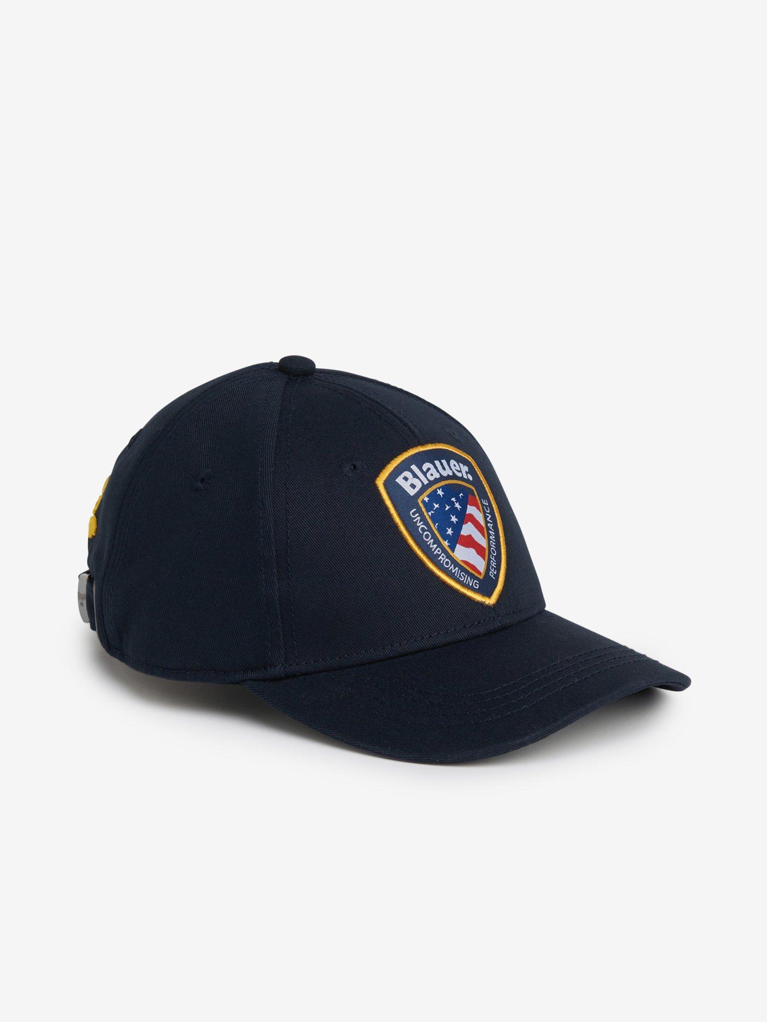JUNIOR BASEBALL CAP WITH BLAUER PATCH - Blauer
