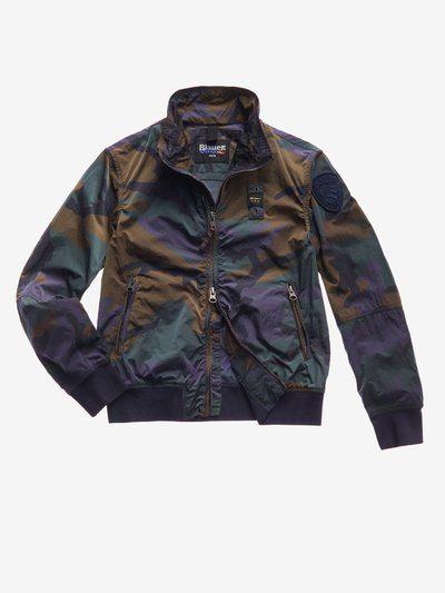 JUNIOR CAMOUFLAGE BOMBER JACKET