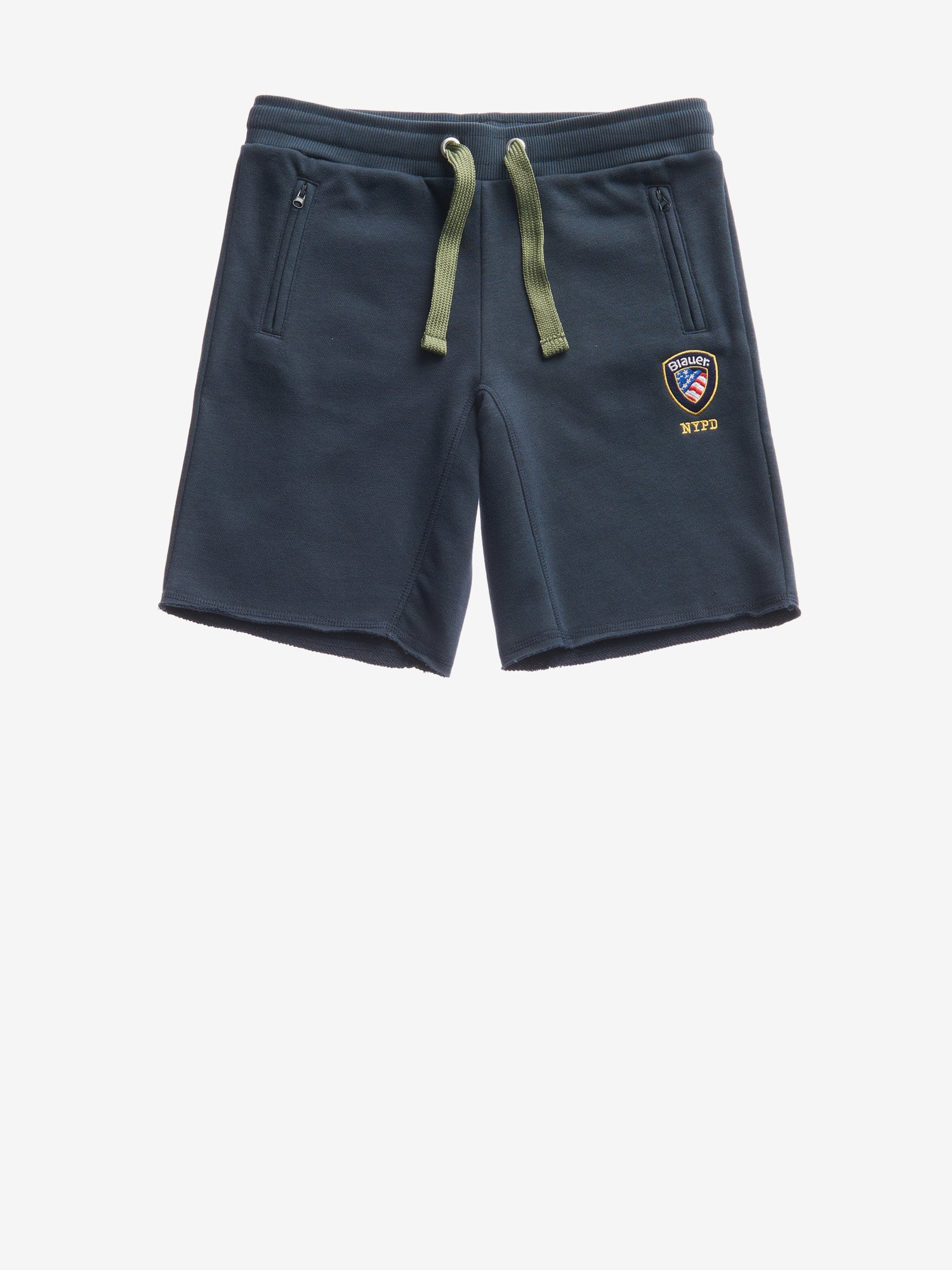 JUNIOR SHORT FRAYED-EDGE SWEATPANTS - Blauer