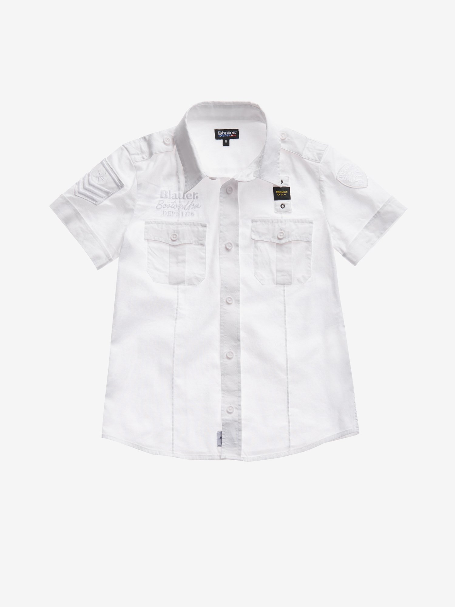 Blauer - JUNIOR DEPT 1936 SHIRT - white - Blauer