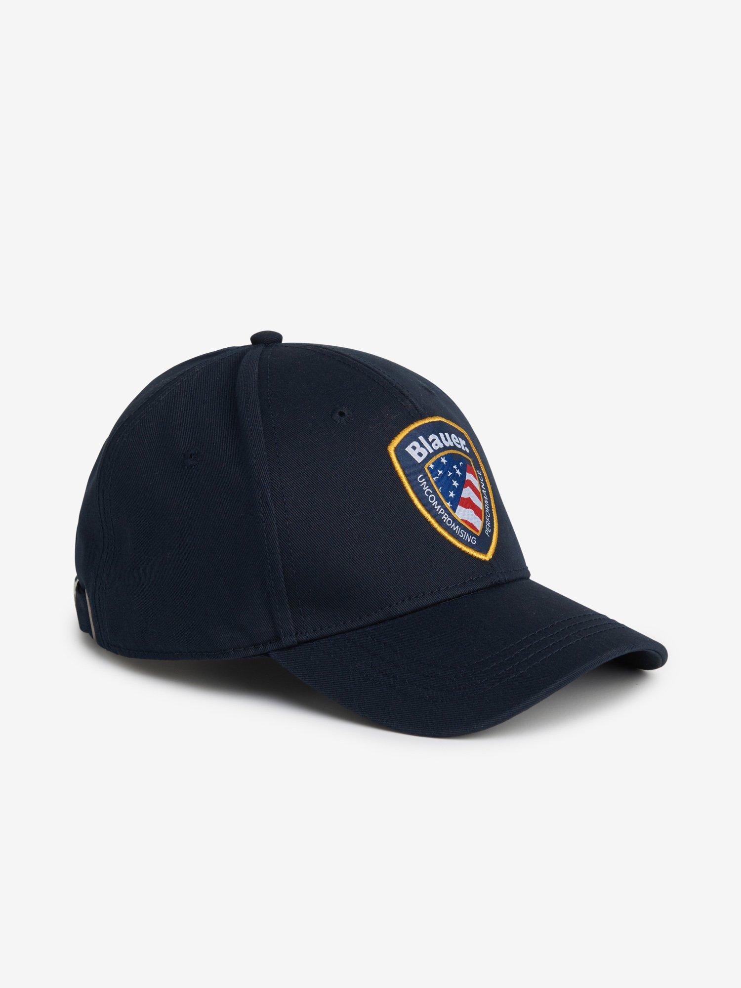 BLAUER PATCH BASEBALL CAP - Blauer
