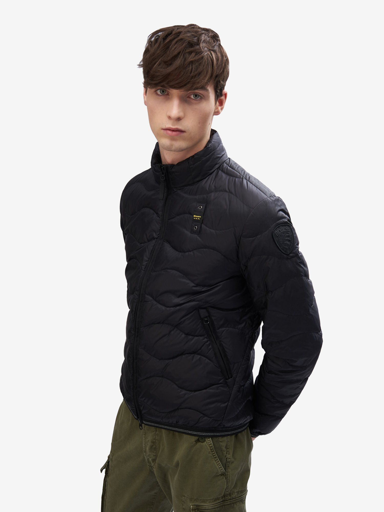 BRYANT HORIZONTAL WAVE-QUILTED DOWN JACKET - Blauer