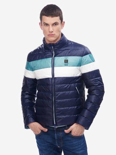 DUNN THREE-COLOUR DOWN JACKET