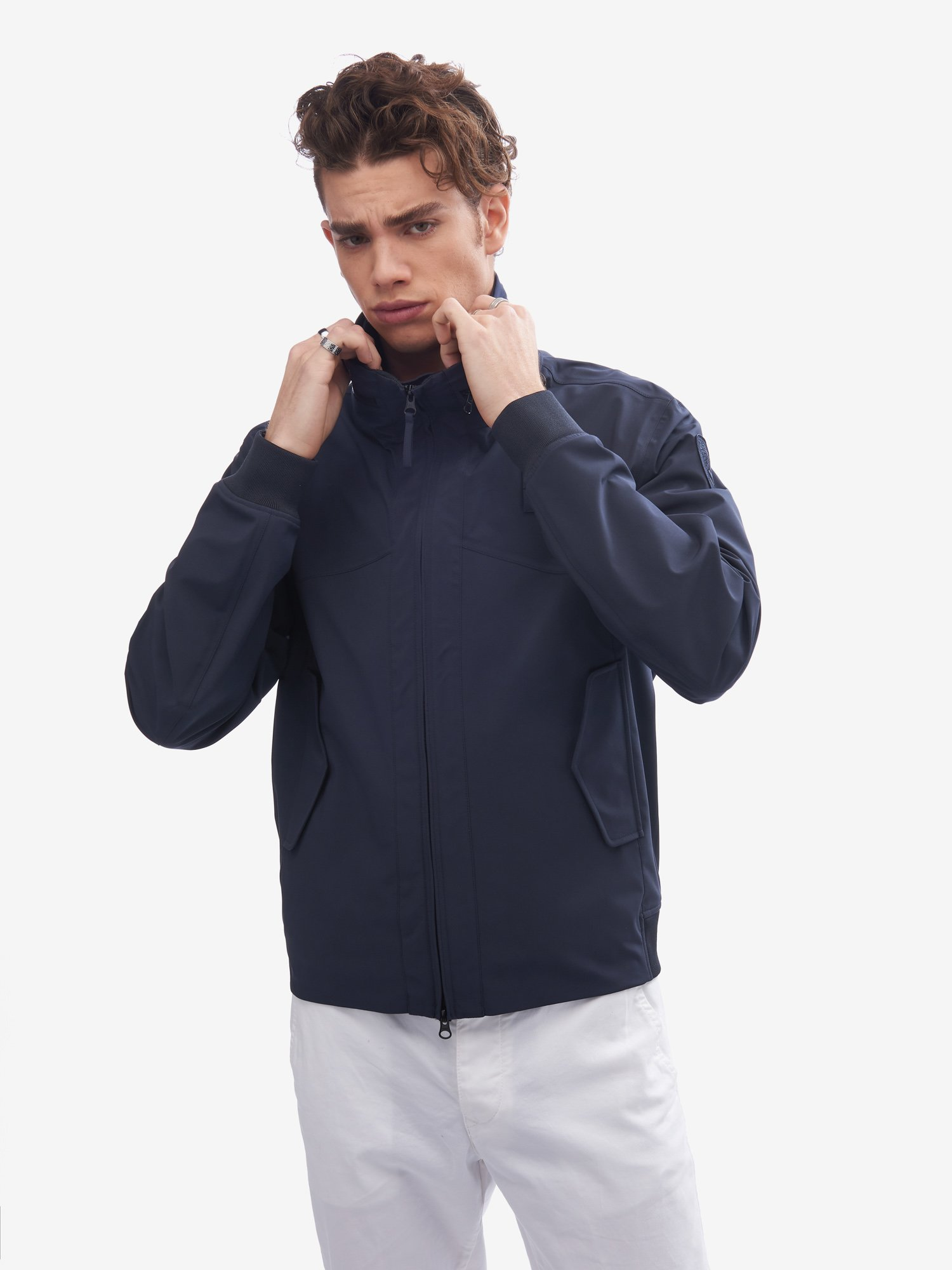 PAUL UNLINED TAPED NEOPRENE JACKET - Blauer