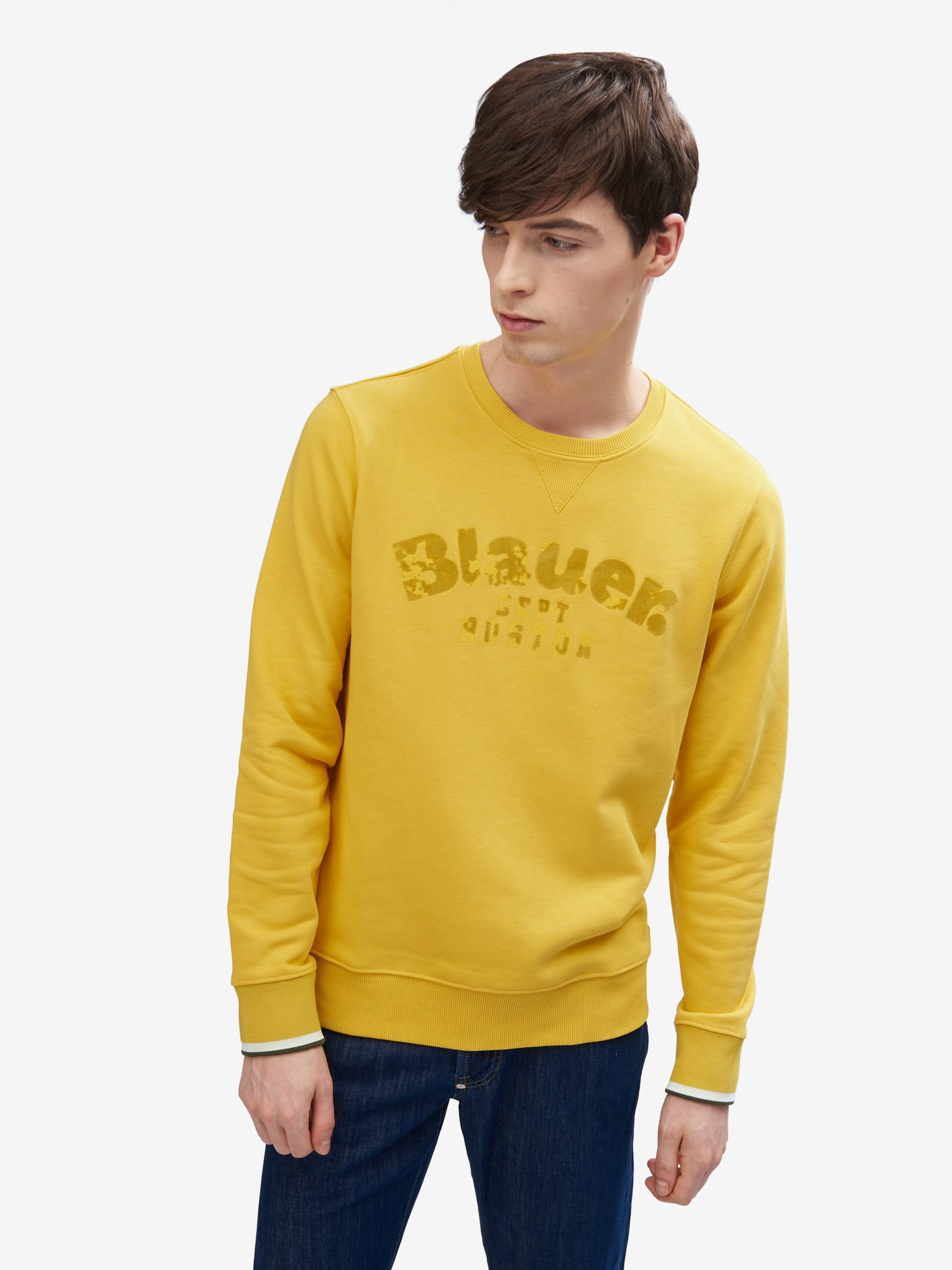 BASIC CREW NECK SWEATSHIRT - Blauer
