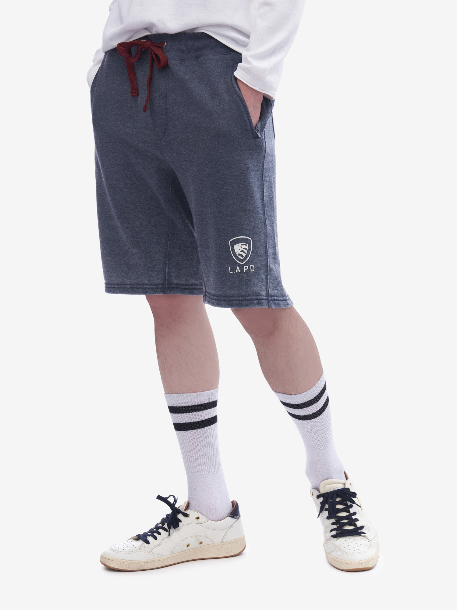 L.A.P.D. SHORT SWEATPANTS - Blauer